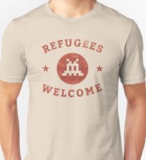 Refugees Welcome! Unisex T-Shirt