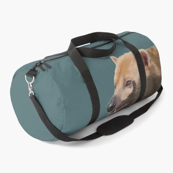 Bush Dog Portrait Duffle Bag