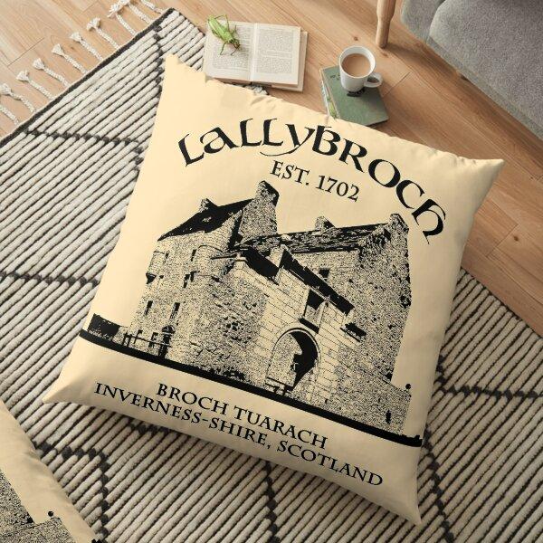 Lallybroch Outlander Floor Pillow