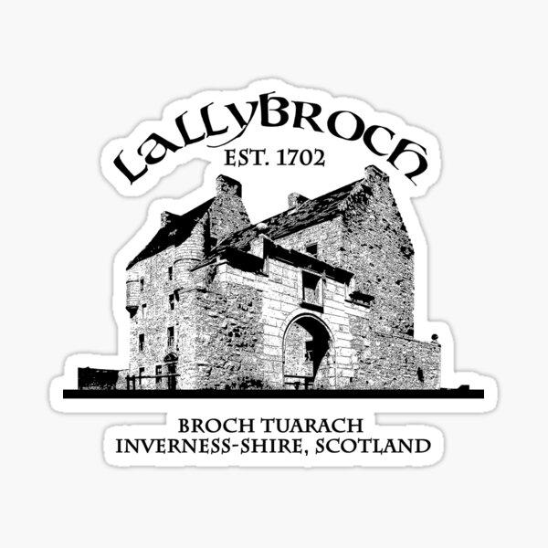 Lallybroch Outlander Sticker