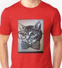 Nerd kitten  Unisex T-Shirt