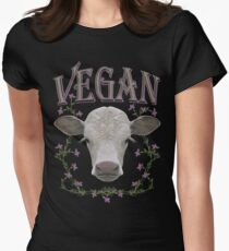 VEGAN Women's Fitted T-Shirt