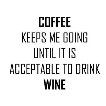 Coffee&wine by inkedollxx