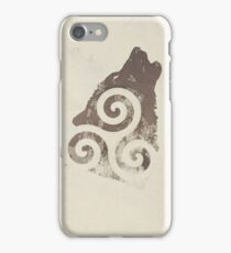 Triskele Wolf iPhone Case/Skin