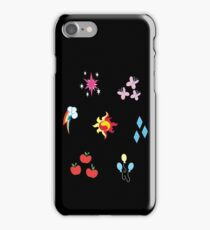 My little Pony - Elements of Harmony Cutie Mark Special V2 (Sunset Shimmer) iPhone Case/Skin