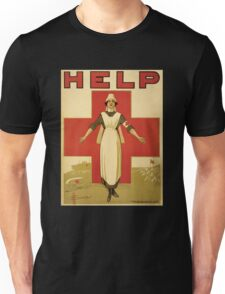 Red Cross WW1 Poster Unisex T-Shirt