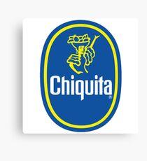 Chiquita Banana Logo Canvas Print