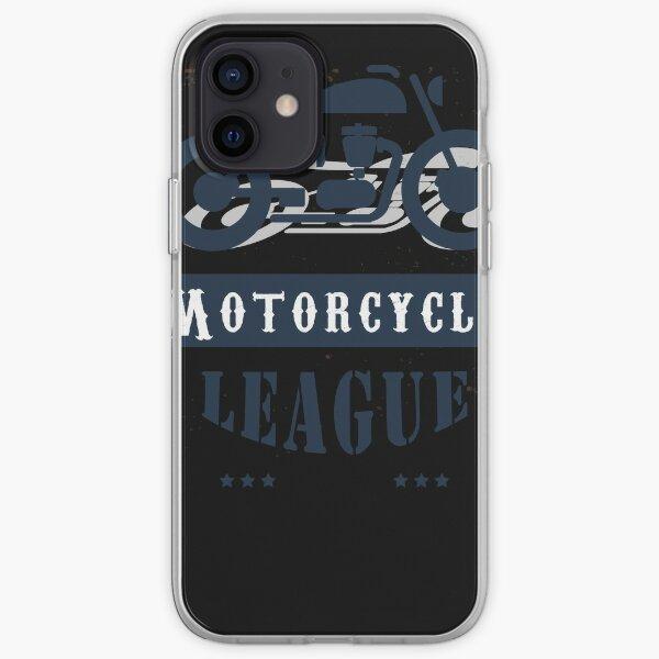 Camiseta clásica motocicletas personalizadas construyen y reparan motocicletas vintage, american funny, 21 Funda blanda para iPhone