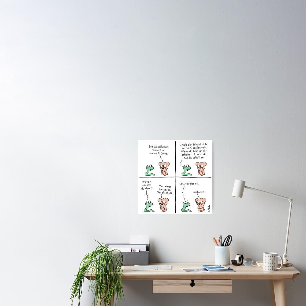 Gesellschaft Poster