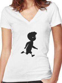 Limbo Women's Fitted V-Neck T-Shirt