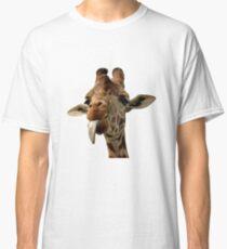 Giraffe with Cute Tongue! Classic T-Shirt