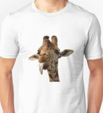Giraffe with Cute Tongue! Unisex T-Shirt
