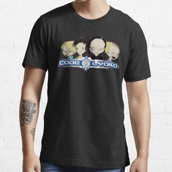 Code lyoko T-shirt essentiel