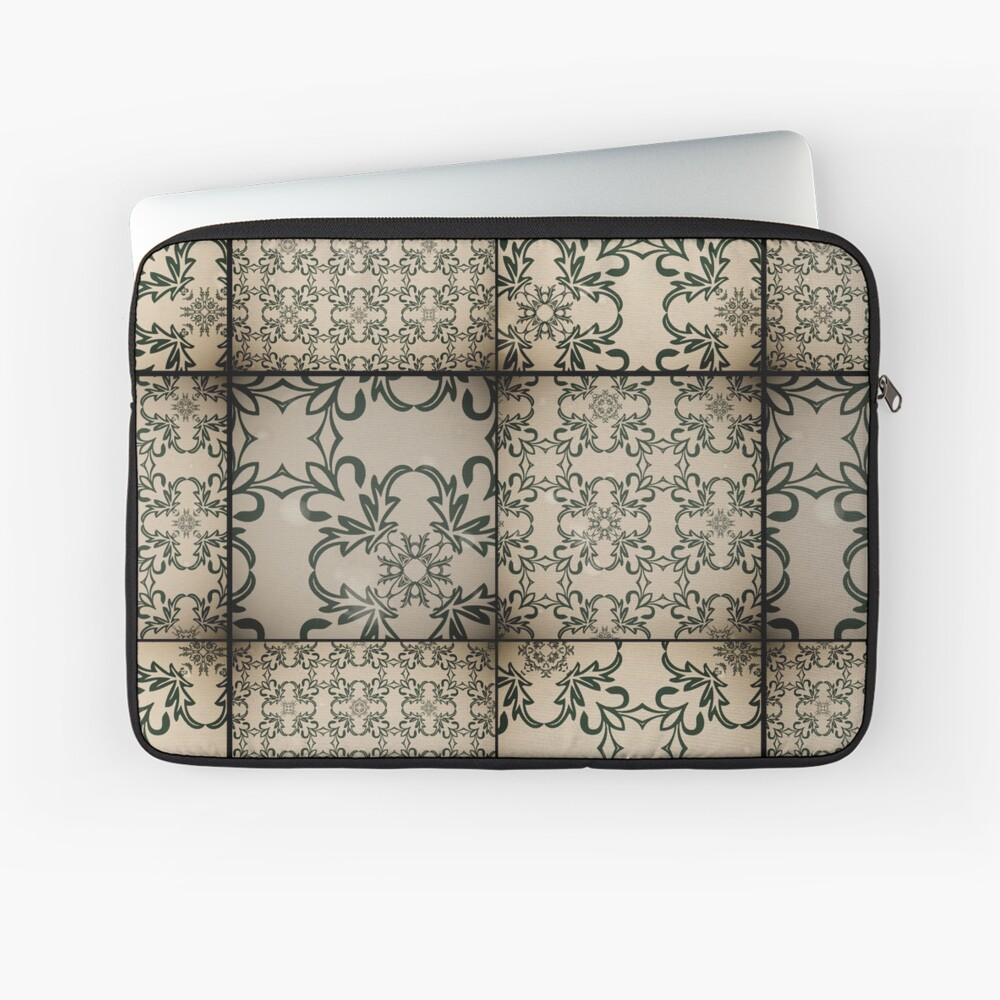 Vintage tiles Laptop Sleeve