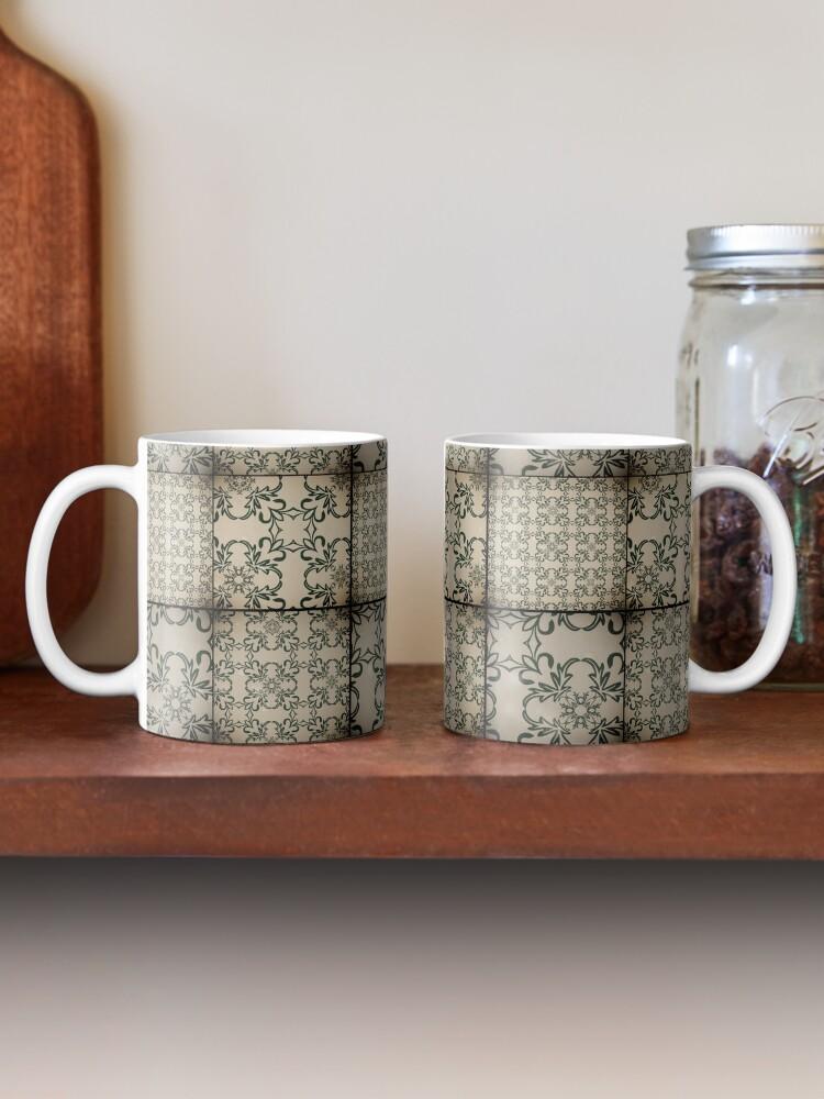 Alternate view of Vintage tiles Mug