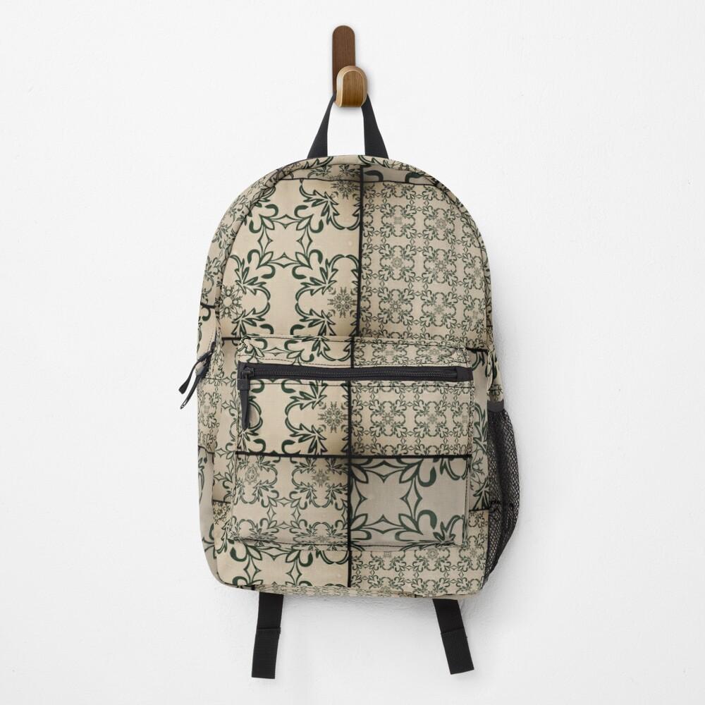Vintage tiles Backpack