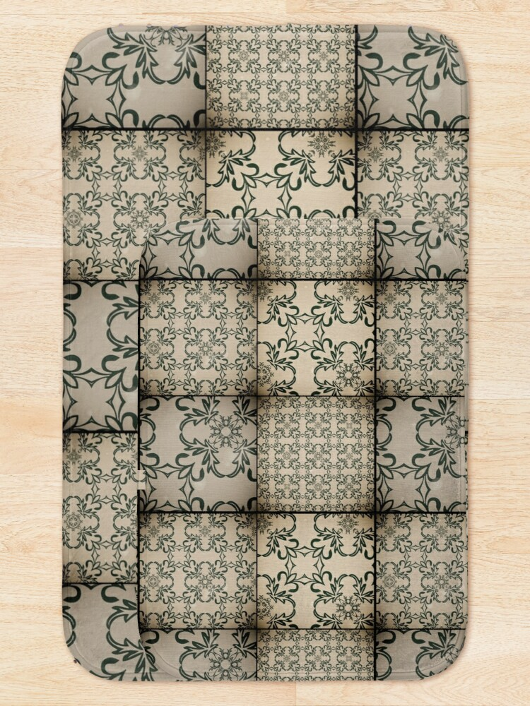 Alternate view of Vintage tiles Bath Mat