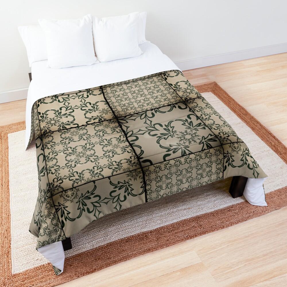Vintage tiles Comforter