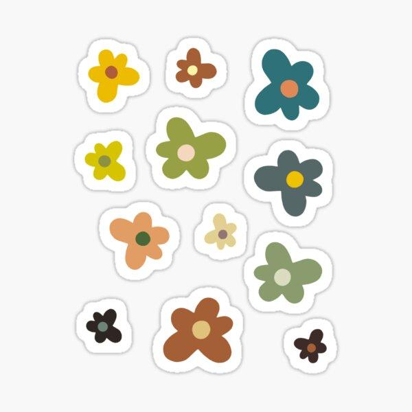 Paquete de pegatinas Golf Le Fleur (tonos tierra) Pegatina
