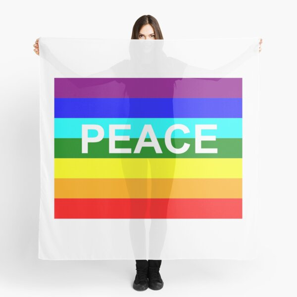 Peace for All Scarf