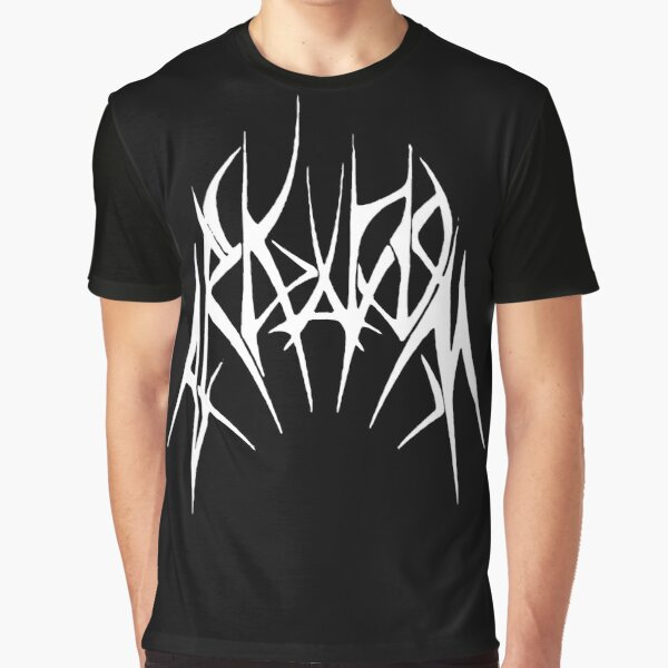 Arkham Metal Variant Graphic T-Shirt