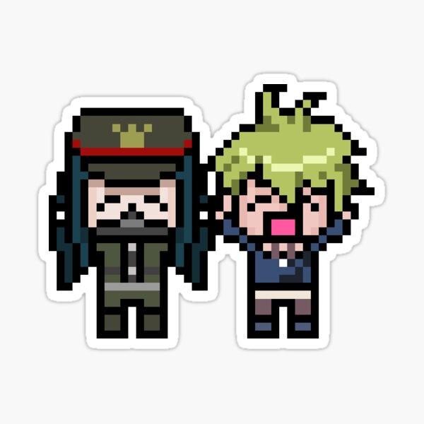 Amaguji Pixels Sticker
