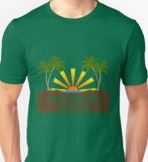 Caribbean Tropics  Unisex T-Shirt