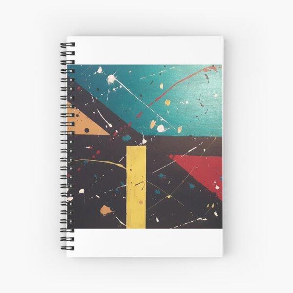 Artsy Inspirational print Spiral Notebook