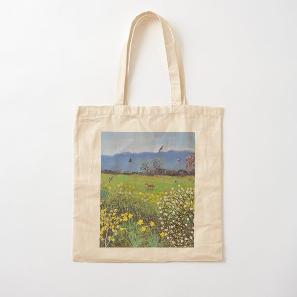 Spring Hope Cotton Tote Bag