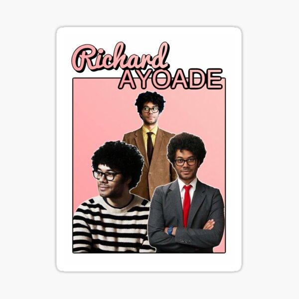 Richard Ayoade Homage Sticker