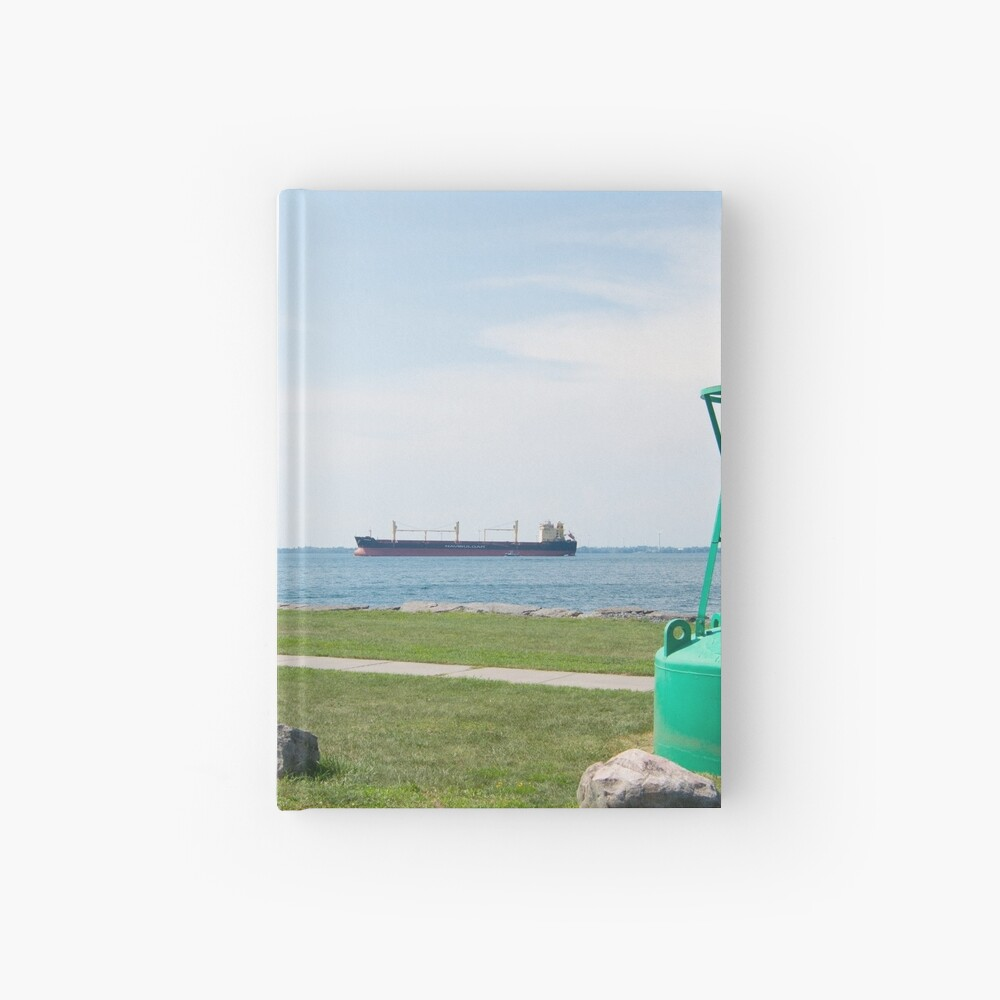 Ship Watching at East End Park Hardcover Journal