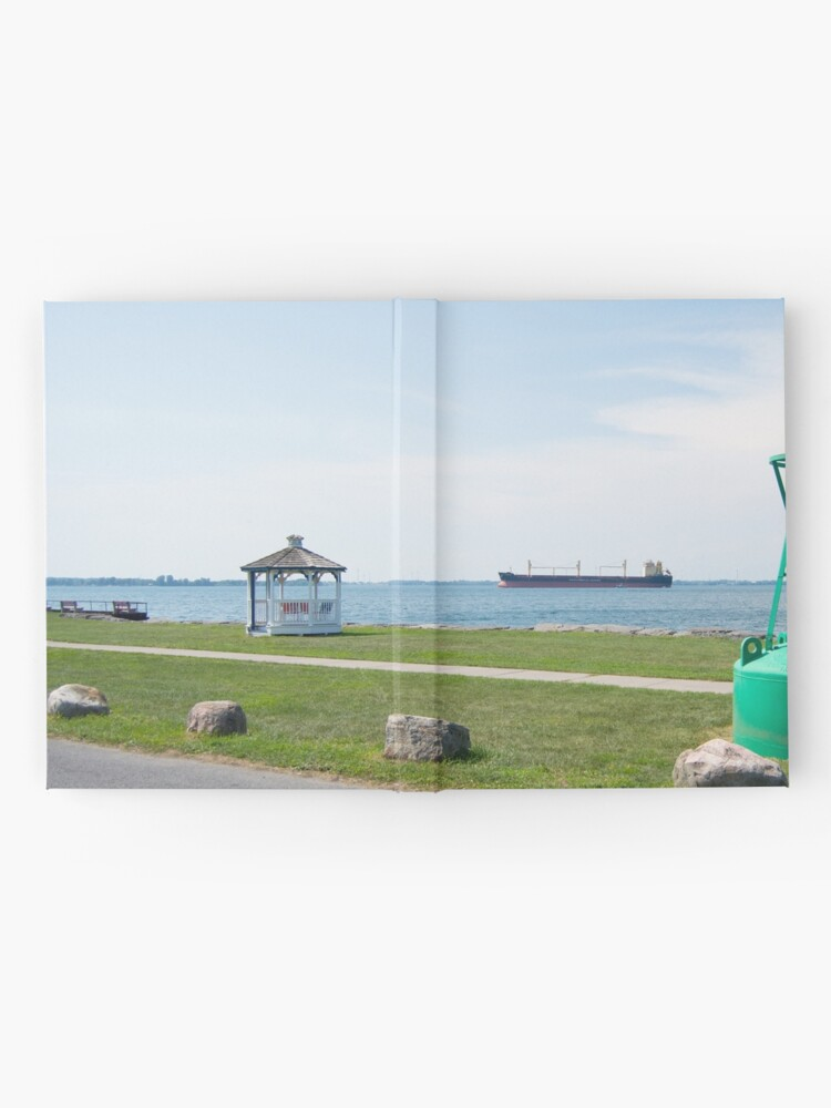 Alternate view of Ship Watching at East End Park Hardcover Journal