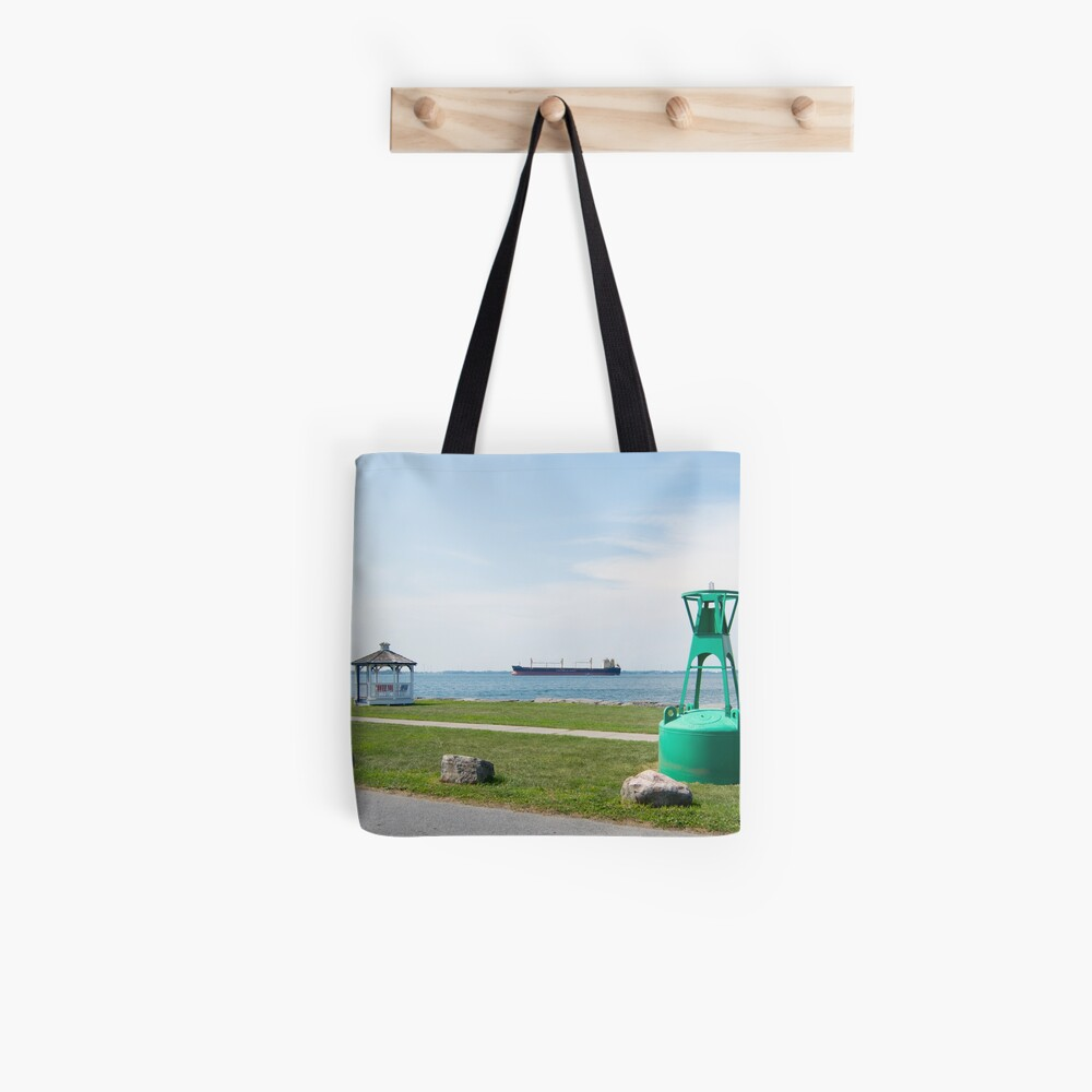 Ship Watching at East End Park Tote Bag