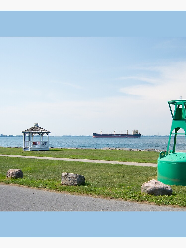 Ship Watching at East End Park by PhotoGraphicsSL
