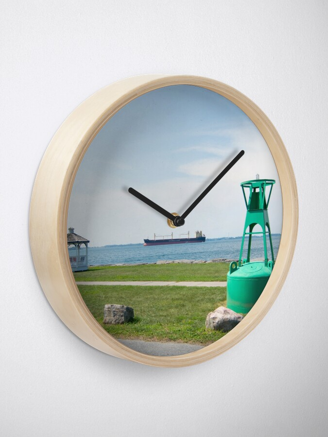 Alternate view of Ship Watching at East End Park Clock