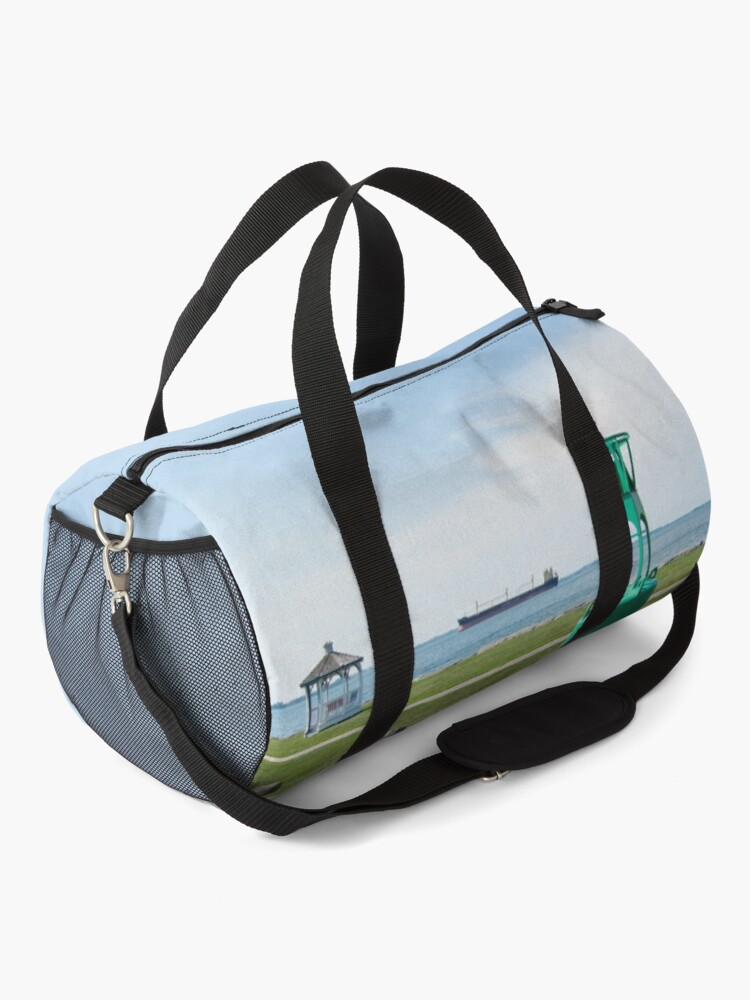 Alternate view of Ship Watching at East End Park Duffle Bag