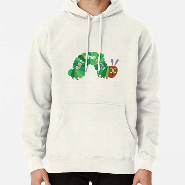 Eat The Rich Hungry Caterpillar  Pullover Hoodie