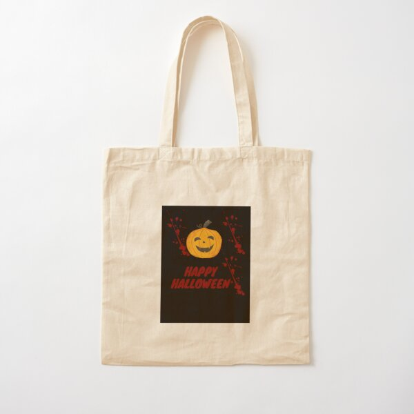 Happy Halloween  Cotton Tote Bag