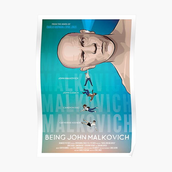 Being John Malkovich poster Poster