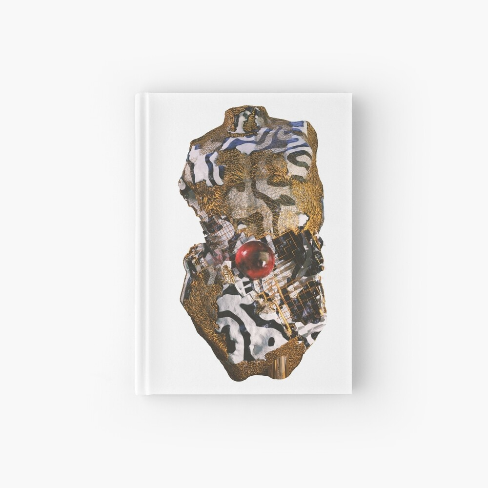 ABSTRACT TORSO Hardcover Journal