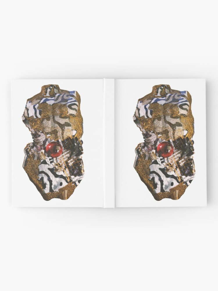 Alternate view of ABSTRACT TORSO Hardcover Journal