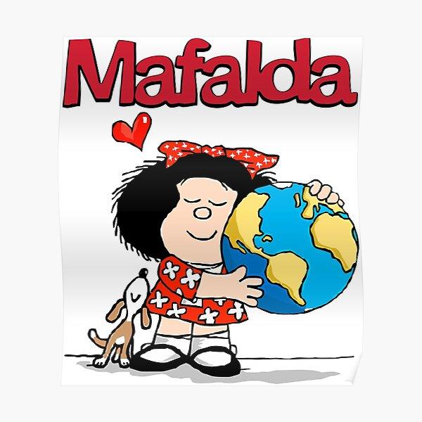 Mafalda ama la tierra. Póster