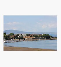 North Scale Village Walney Photographic Print