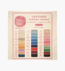 Vintage Color Thread Chart Scarf