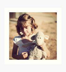 Sheepy and me Art Print