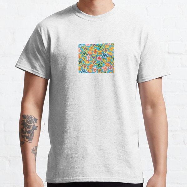 groovy flower power Classic T-Shirt