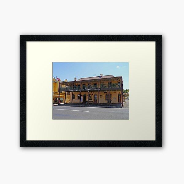 Lotts Family Hotel, Gundagai, New South Wales, Australia Framed Art Print