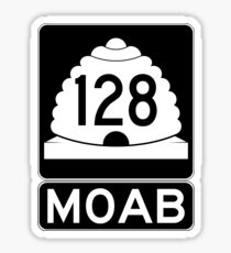 Utah 128 - Moab - SR 126 Sticker