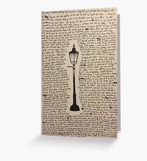 The Lamp Post Greeting Card