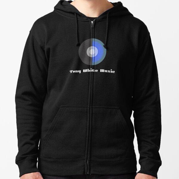Tony White Music Logo Wear! Zipped Hoodie